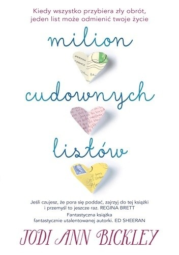 Okładka książki Milion cudownych listów