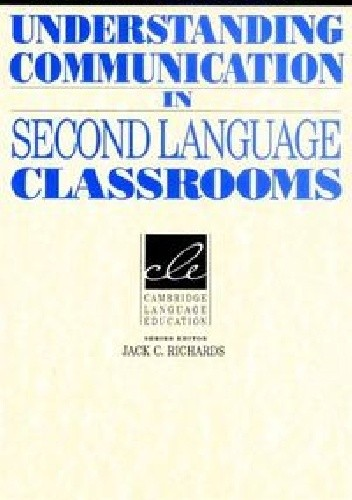 Okładka książki Understanding Communication in Second Language