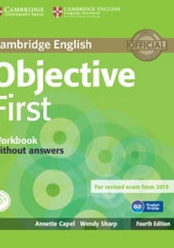 Okładka książki Objective First Workbook without answers