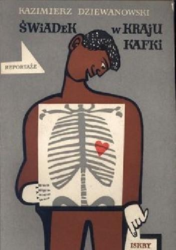 Okładka książki Świadek w kraju Kafki