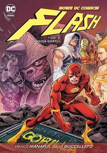 Okładka książki Flash: Inwazja goryli