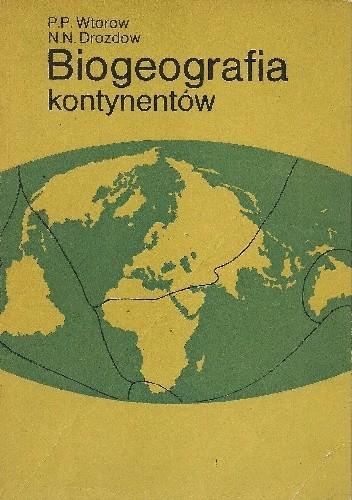 Okładka książki Biogeografia kontynentów
