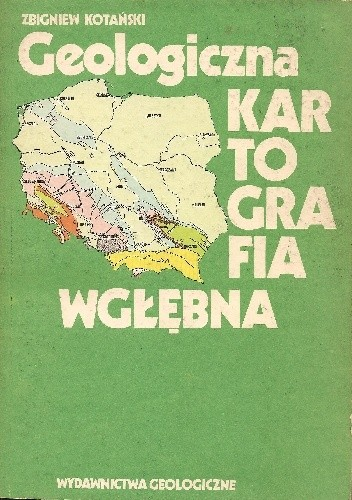 Okładka książki Geologiczna kartografia wgłębna