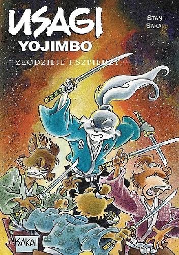 Okładka książki Usagi Yojimbo: Złodzieje i szpiedzy