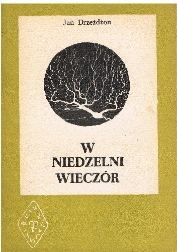 Okładka książki W niedzelni wieczór