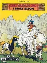 Okładka książki Yakari i biały bizon
