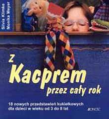 Okładka książki z Kacprem przez cały rok