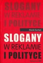 Okładka książki Slogany w reklamie i polityce