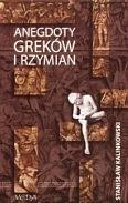Okładka książki Anegdoty Greków i Rzymian