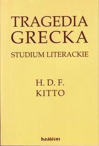 Okładka książki Tragedia grecka. Studium literackie