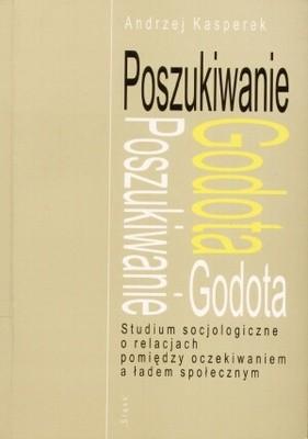 Okładka książki Poszukiwanie Godota