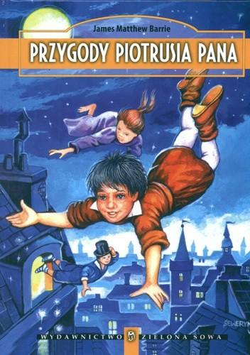 Okładka książki Przygody Piotrusia Pana