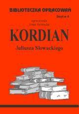 Okładka książki Kordian - opracowanie zeszyt 6