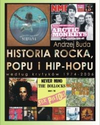 Okładka książki Historia Rocka Popu i Hip Hopu
