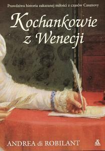 Okładka książki Kochankowie z Wenecji