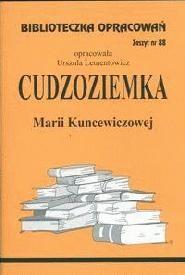 Okładka książki Cudzoziemka /BO/z.88/
