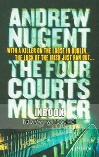 Okładka książki Four Courts Murder - Nugent Andrew