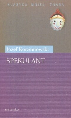 Okładka książki Spekulant