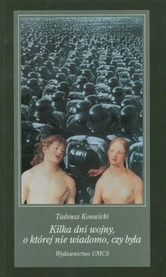 Okładka książki Kilka dni wojny, o której nie wiadomo, czy była