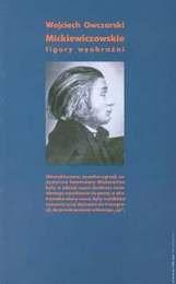 Okładka książki Mickiewiczowskie figury wyobraźni