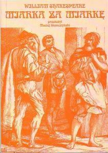 Okładka książki Miarka za miarkę
