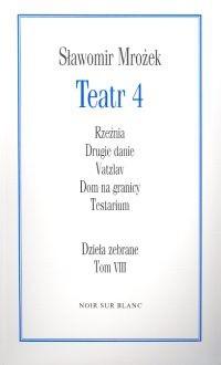 Okładka książki Teatr 4