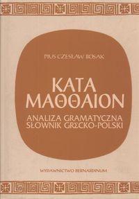 Okładka książki Kata Maooaion