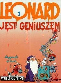 Okładka książki Leonard jest geniuszem