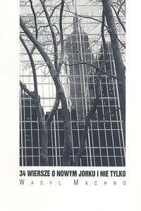 Okładka książki 34 wiersze o Nowym Jorku i nie tylko