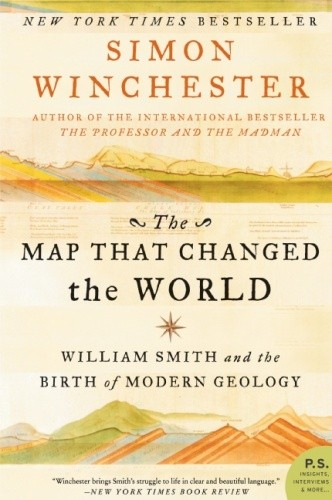 Okładka książki The Map That Changed the World. William Smith and the Birth of Modern Geology