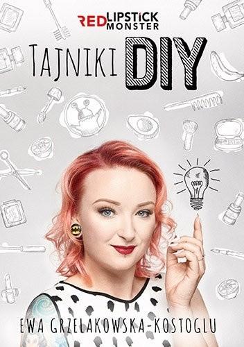 Okładka książki Tajniki DIY z Red Lipstick Monster