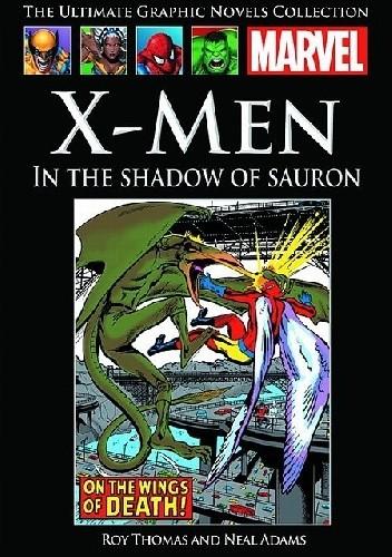 Okładka książki X-Men: W cieniu Saurona.