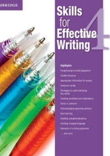 Okładka książki Skills for Effective Writing 4 Student's Book