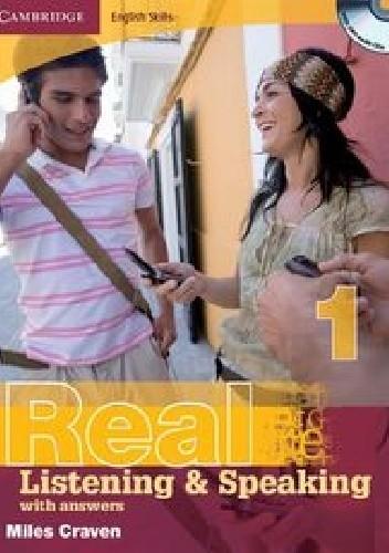 Okładka książki Cambridge English Skills Real 1 Listening and Speaking with answers