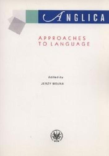Okładka książki Anglica Approaches to language