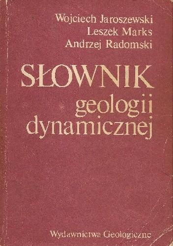 Okładka książki Słownik geologii dynamicznej