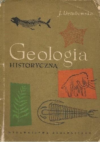 Okładka książki Geologia historyczna