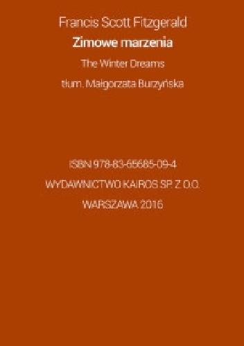 Okładka książki Zimowe marzenia