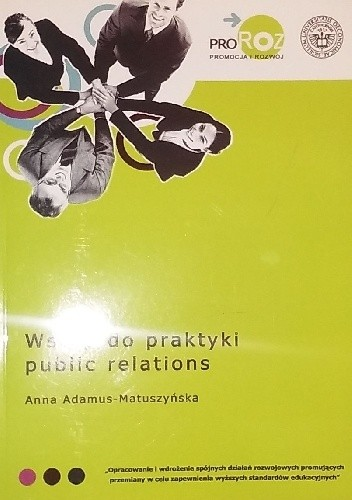 Okładka książki Wstęp do praktyki public relations