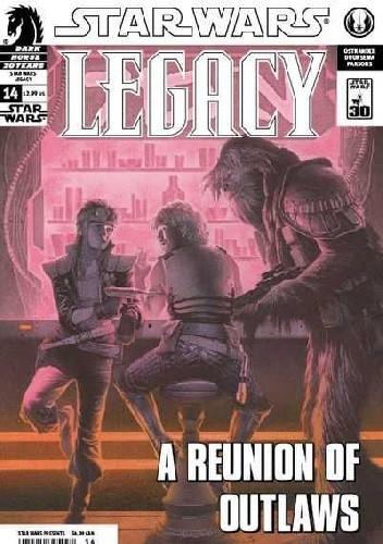 Okładka książki Star Wars: Legacy #14