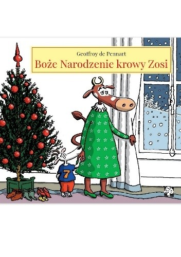 Okładka książki Boże Narodzenie krowy Zosi
