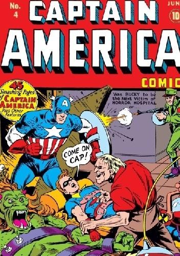 Okładka książki Captain America Comics 4