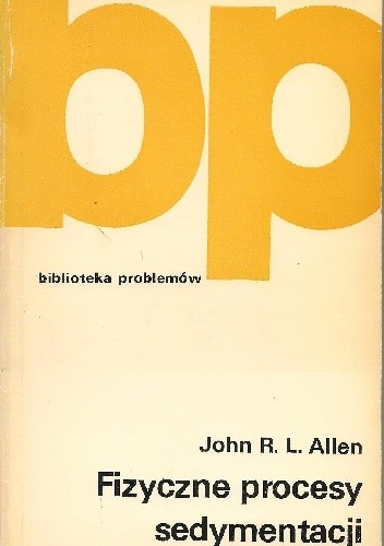 Okładka książki Fizyczne procesy sedymentacji