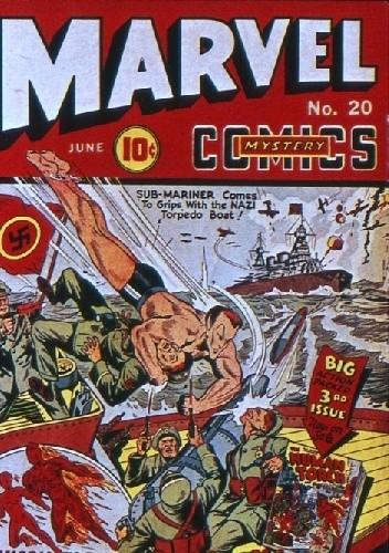 Okładka książki Marvel Mystery Comics 20