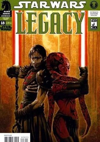 Okładka książki Star Wars: Legacy #18