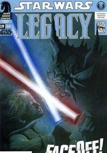 Okładka książki Star Wars: Legacy #19
