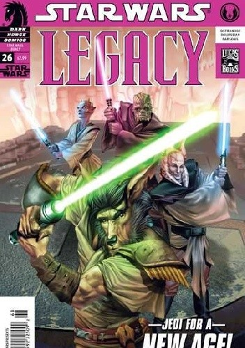 Okładka książki Star Wars: Legacy #26