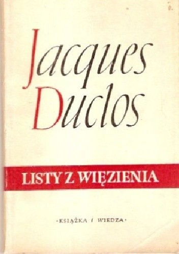Okładka książki Listy z więzienia