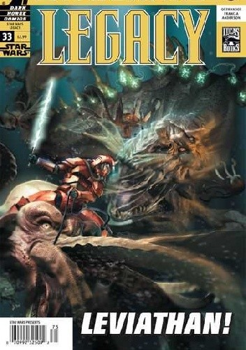 Okładka książki Star Wars: Legacy #33