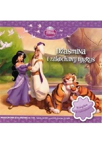 Okładka książki Naklejkowe szaleństwo nr 144. Dżasmina i zakochany tygrys